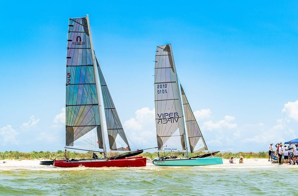 Catamaran Racing at OSYC