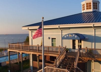 View of Ocean Springs Yacht Club